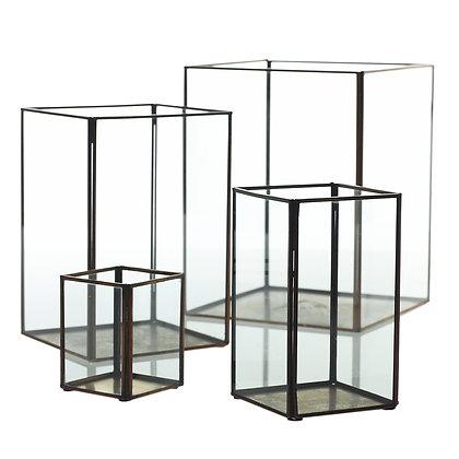Glass + Metal Display Boxes