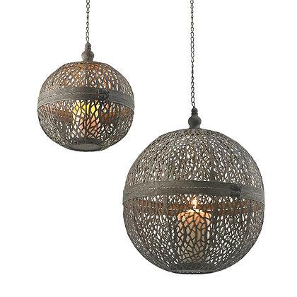 Hanging Metal Candle Lantern