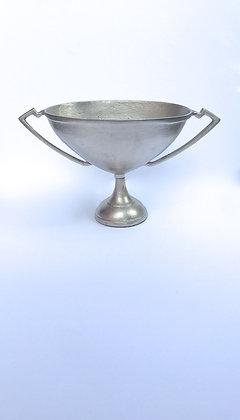 Silver Aluminum Trophy Urn