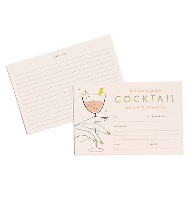 'Cocktail' Recipe Cards by Rifle Paper Co.