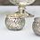 Thumbnail: Antiqued Silver Mercury Glass Votive