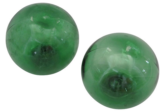 Vintage Green Glass Fishing Floats