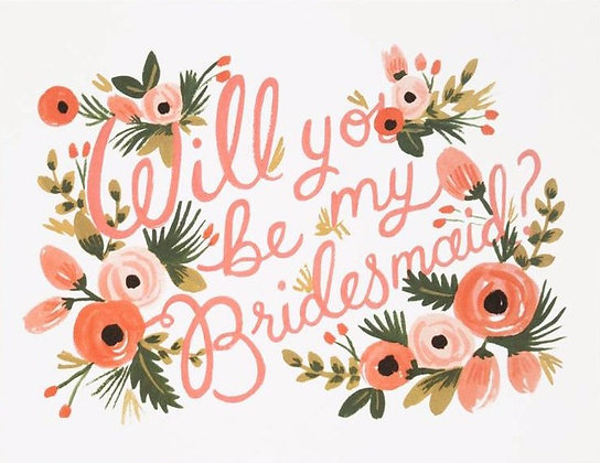 THE BRIDESMAID BOX