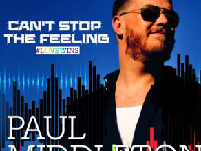 Paul Middleton's Cant' stop the Feeling in his new Cover
