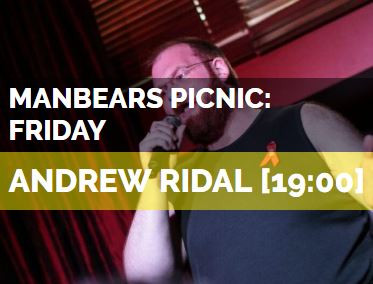 Manbears Picnic Stage at Manchester Pride at Sackville Gardens