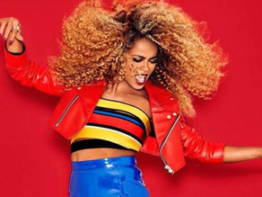 Fleur East at this years Manchester Pride