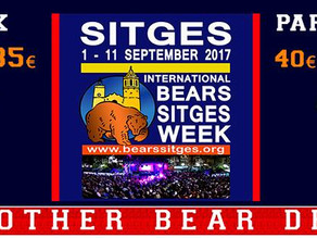 BEAR SITGES 2017 Registration open NOW!!