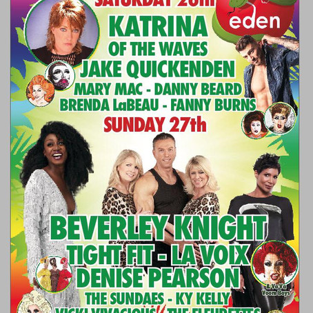 Whats on at Eden Bar - Birmingham