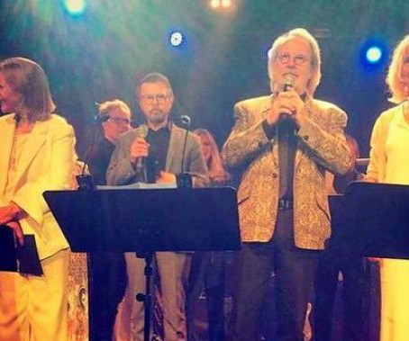 ABBA perform together in Stockholm!