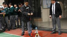 物理科水火箭實驗
