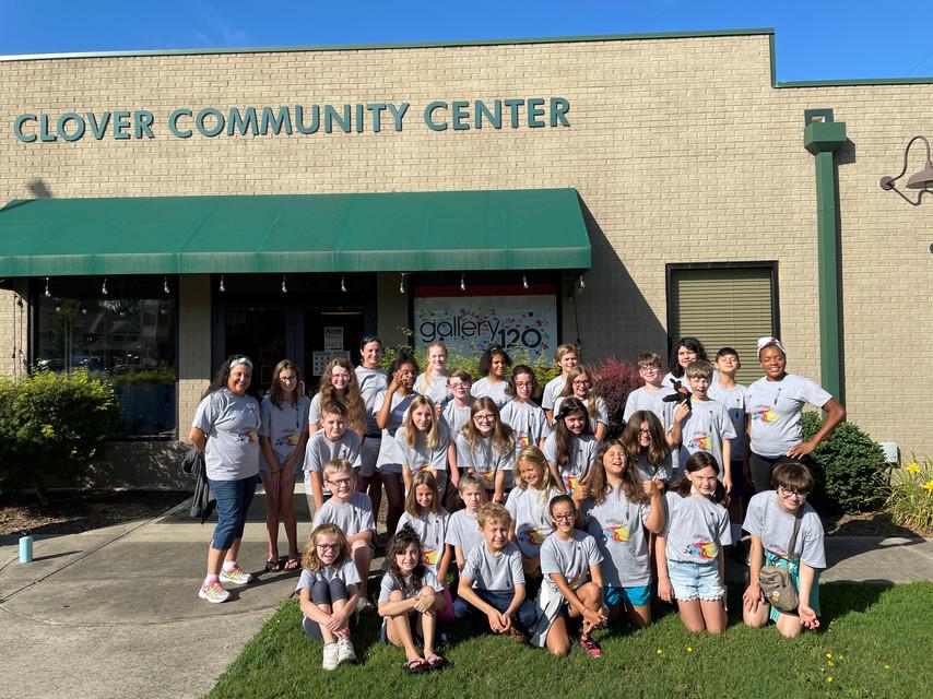 Summer Arts Camp Week 1 Group Photo