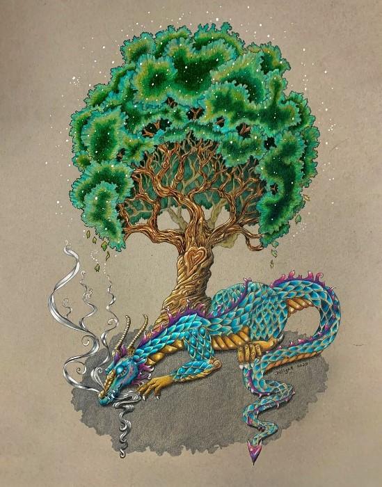 Tree of Life Dragon