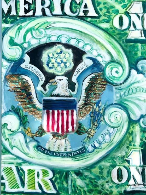 Dollar Triptych Piece 1