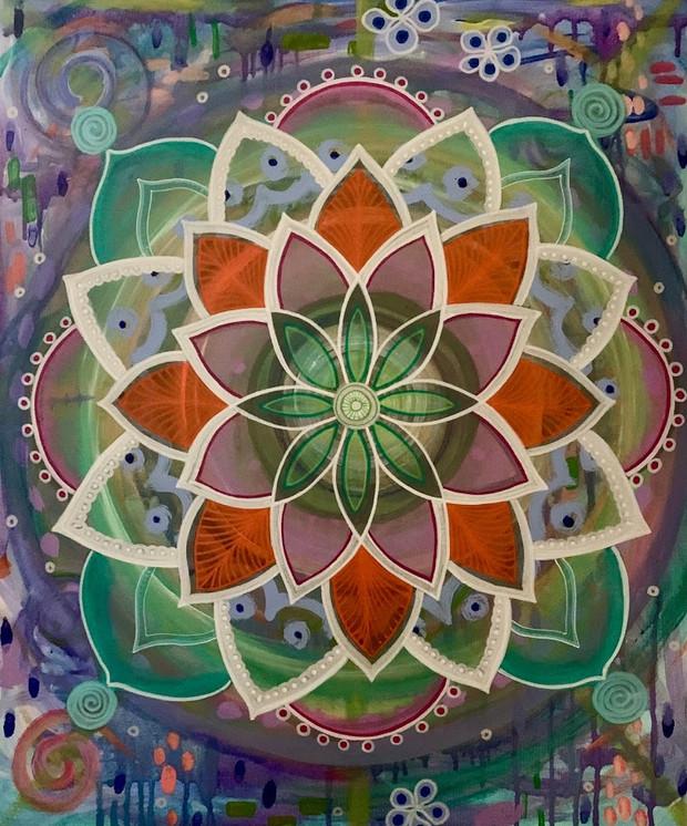 Intuitive Mandala #1