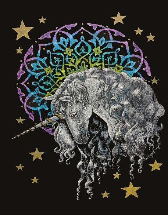 Mandala Unicorn