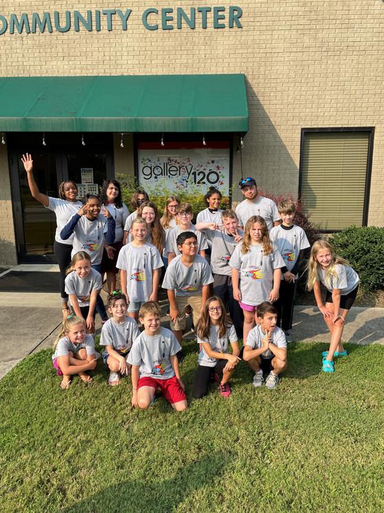 Summer Arts Camp Week 2 Group Photo