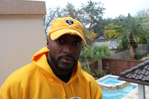 Yellow God is Love Dad Hat