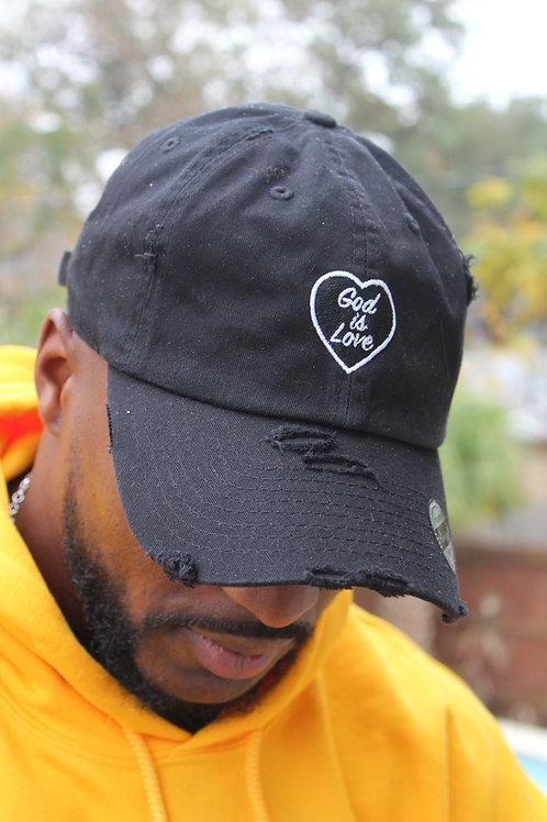 Black God is Love Dad Hat