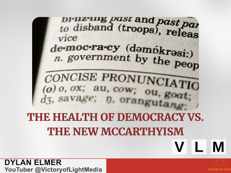 The Health of Democracy vs. The New McCarthyism