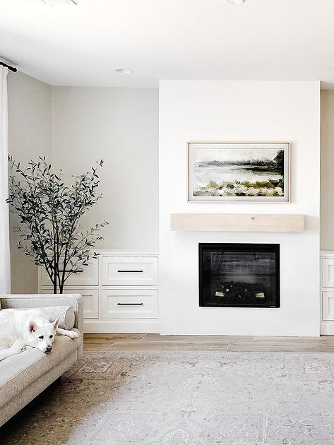 DIY Living Room Renovation Hand Treated Home