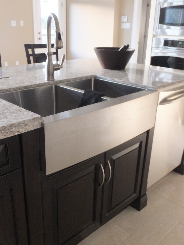 Stainless Steel French Country Sink