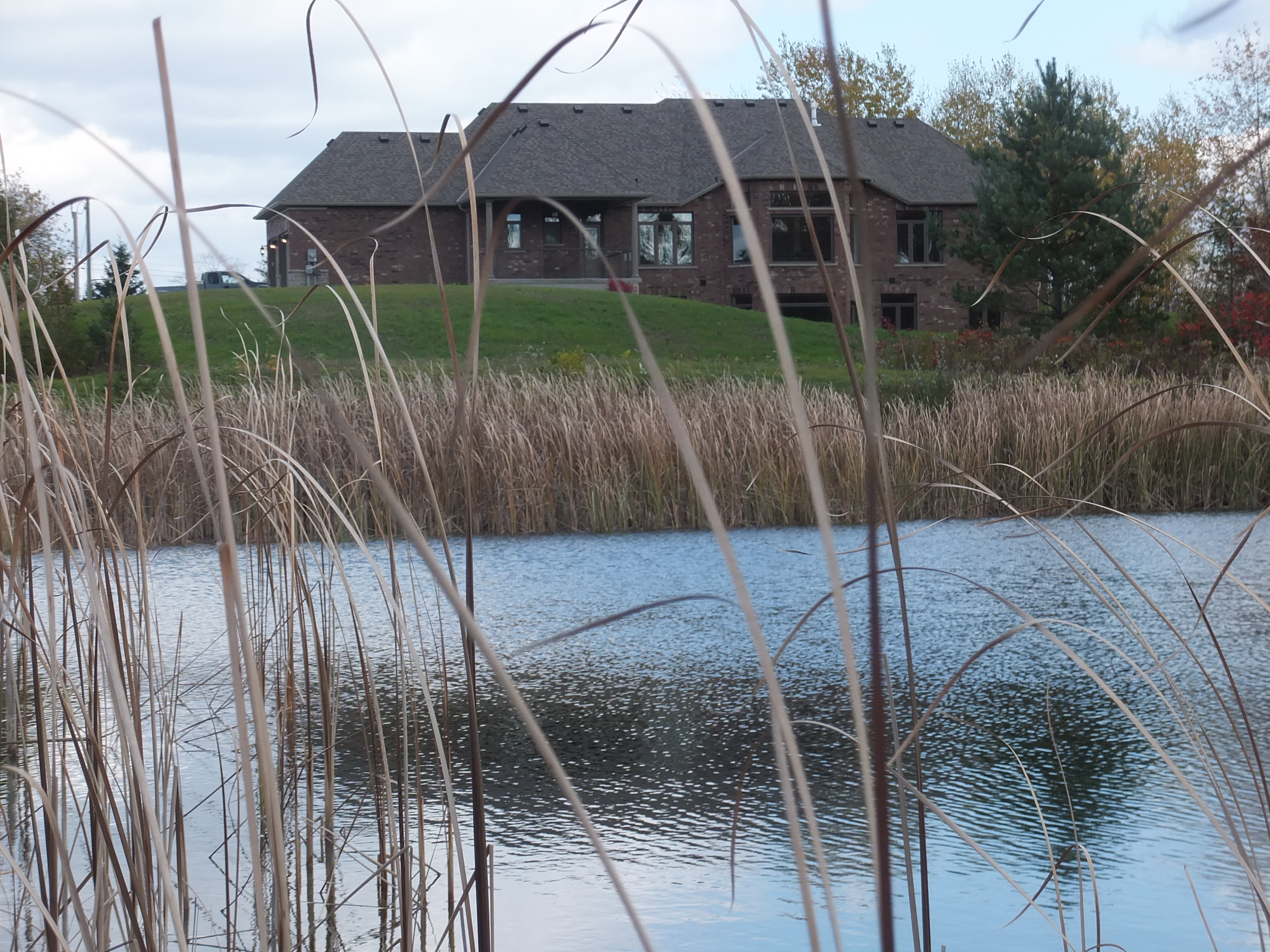 View of House From Pond