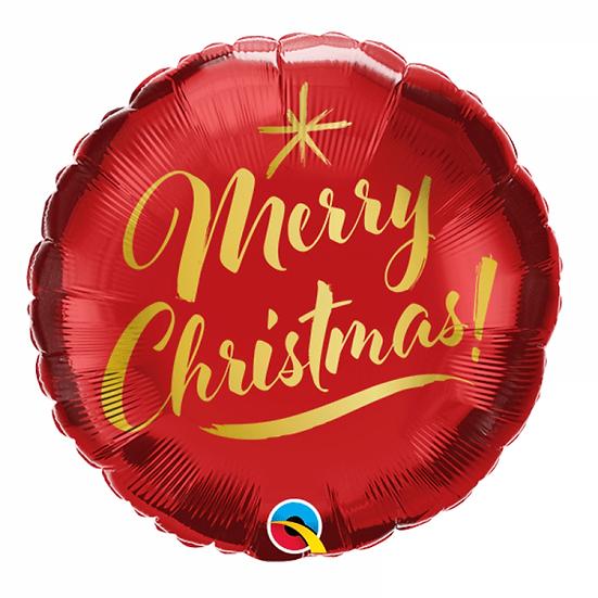 Ballon Cadeau Merry Christmas!