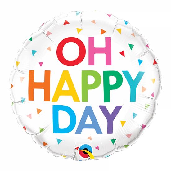 Ballon Oh Happy Day