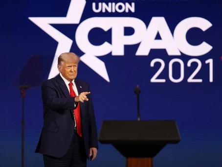 WATCH: President Trump Hints 2024 Run Against Kamala Harris