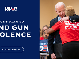Biden's Push For Gun Control Gains Speed