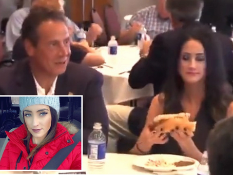 """Cuomo To Female Reporter: """"Eat the whole sausage"""" (VIDEO)"""