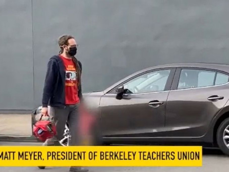 HYPOCRITE: Teachers Union President BUSTED Dropping Kid off At Private School