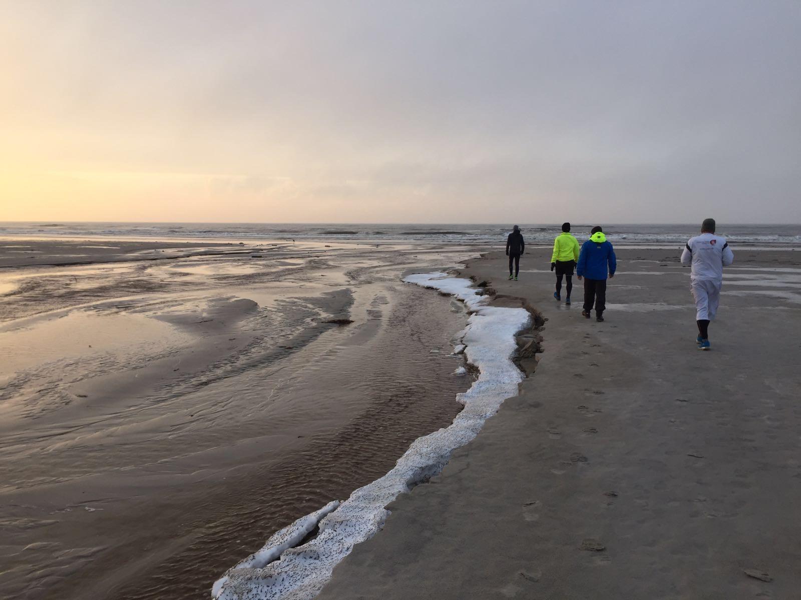 Strand walking 2 1/2 Std als Tagesab