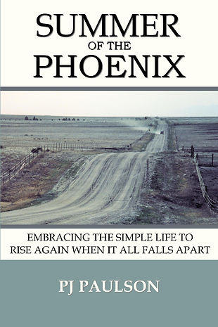 Summer of the Phoenix by PJ Paulson country dirt road dust summer