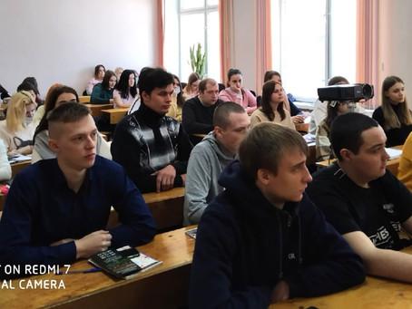 Встреча студентов выпускных групп с представителем пункта отбора на военную службу по контракту
