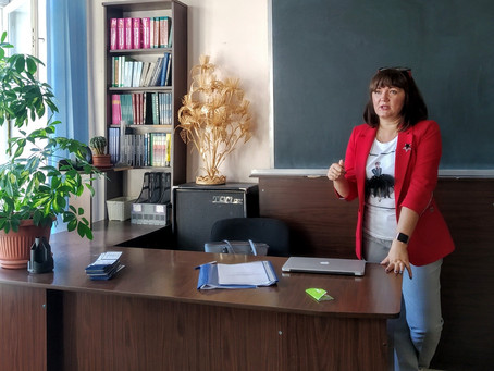 Гость нашего колледжа Анастасия Грец