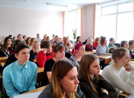 Перед студентами нашего колледжа выступили сотрудники УМВД