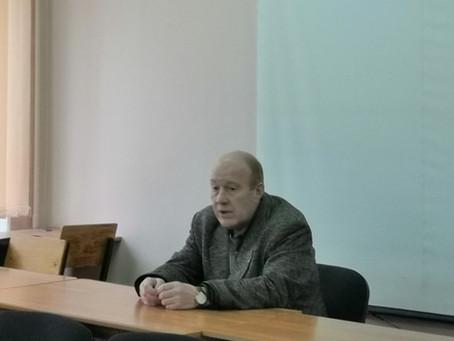 Встреча с внуком знаменитого поэта Николая Рыленкова
