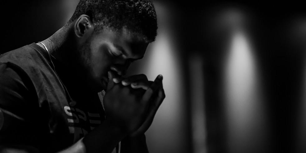 Prayer with Apostle Kareem