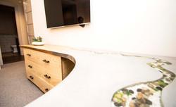 Cast Concrete & Wood Furniture
