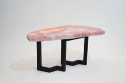 Ros Quartz Illuminated Table