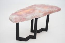 Rose Quartz Illuminated Table