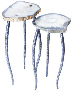 Agate & Steel Nesting Tables