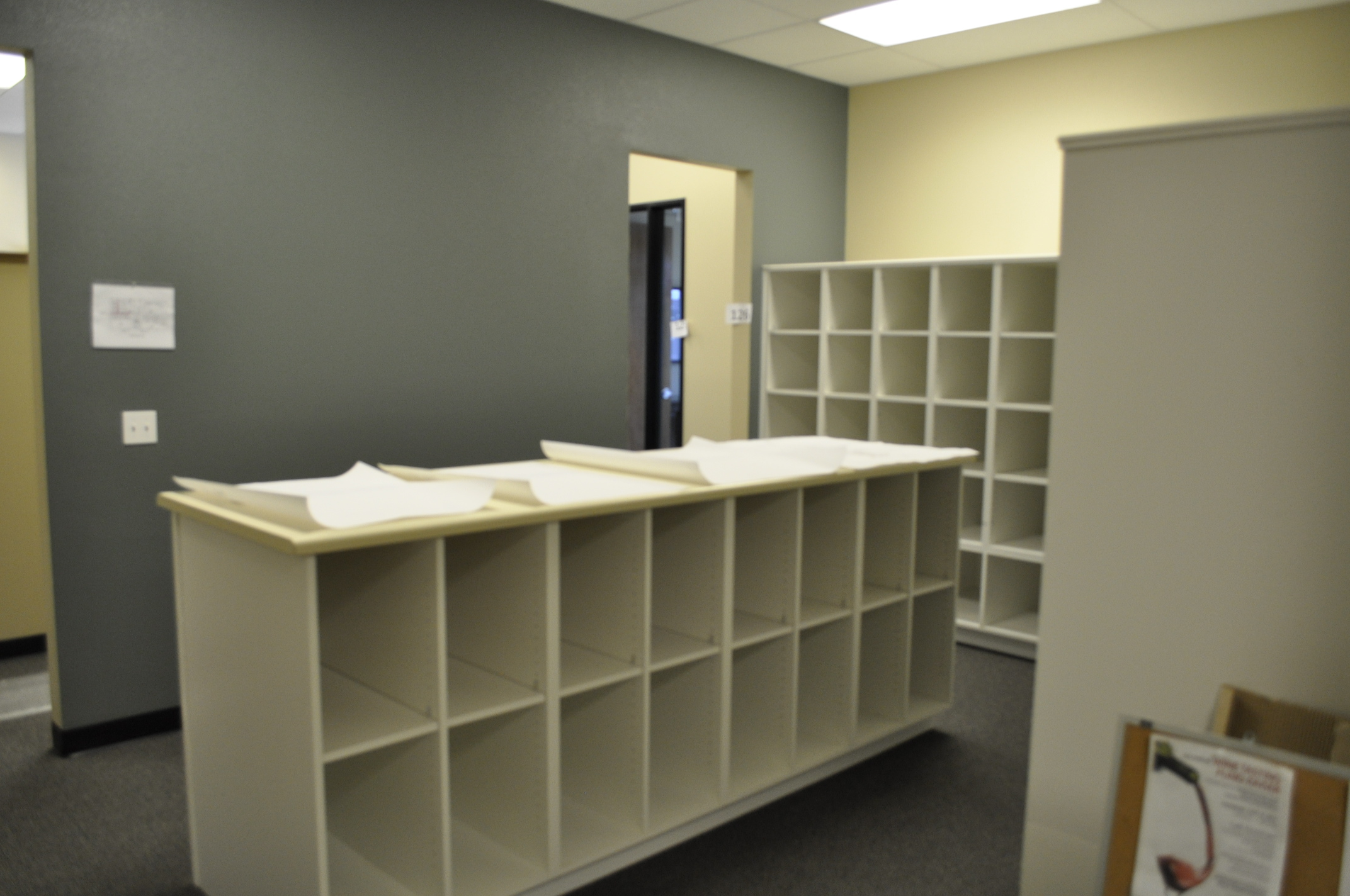 Plan Storage Room