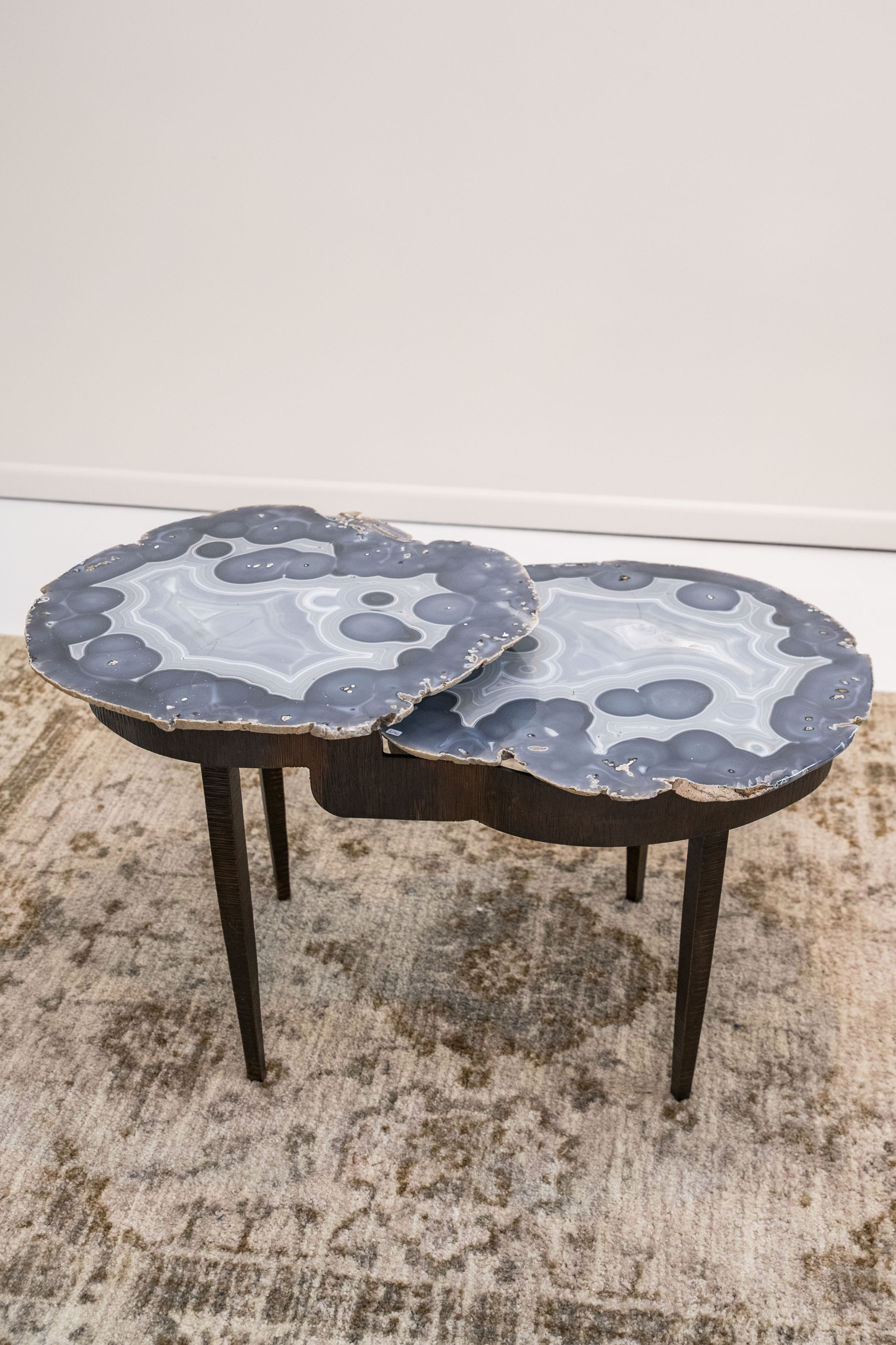 Agate & Steel Table