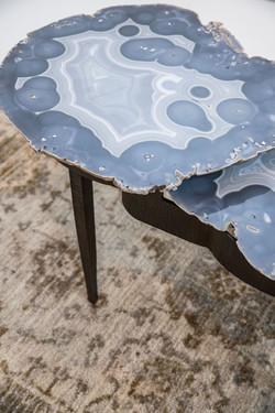 Agate & Steel Table