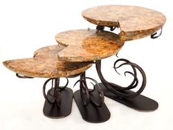 Ammonite Nesting Tables