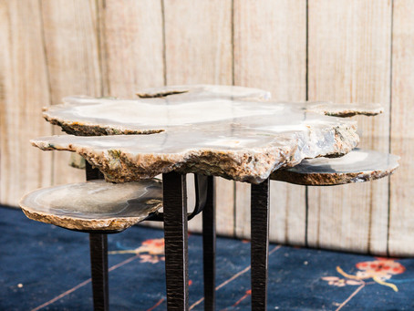 Agate Tiered Table