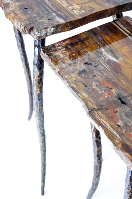 Petrified Wood Tables