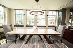 Custom Wood & Hand Forged Table